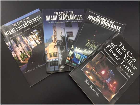 S. N. Bronstein, Author of The Fairlington Lavender Detective Series