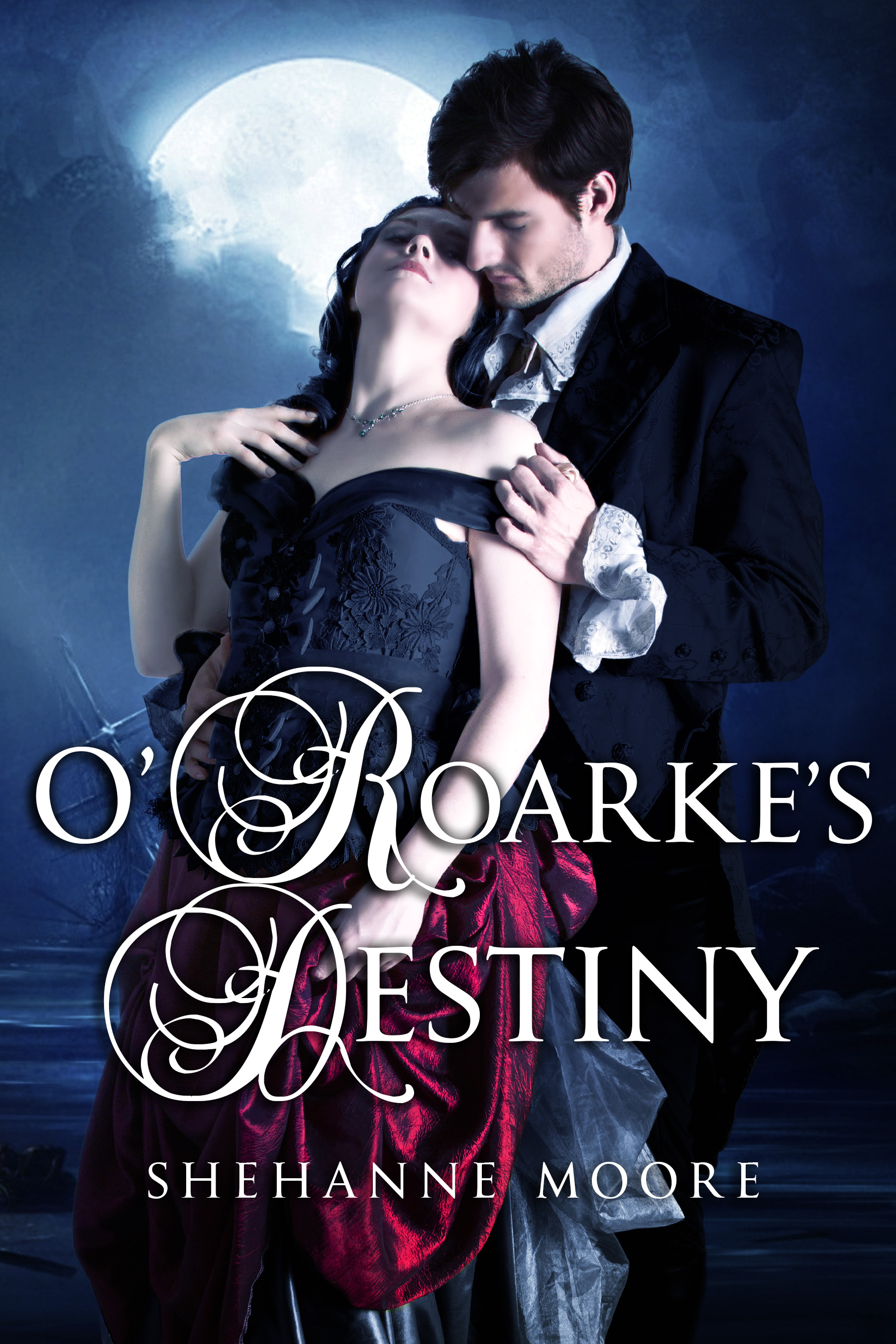 The Rogues of Cornwall and O'Roarke's Destiny by Shehanne Moore