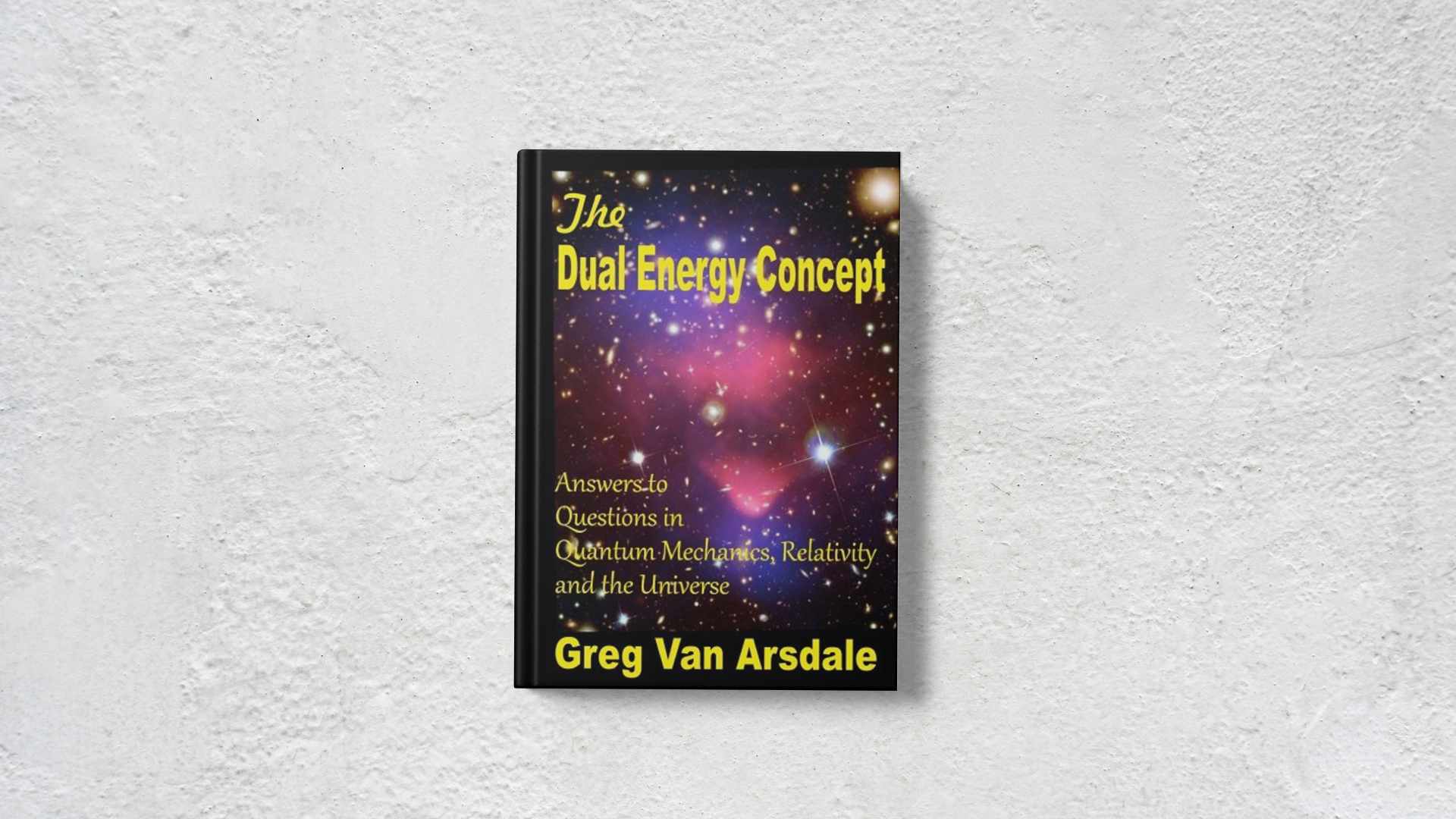 The Dual Energy Concept by Greg Van Arsdale banner