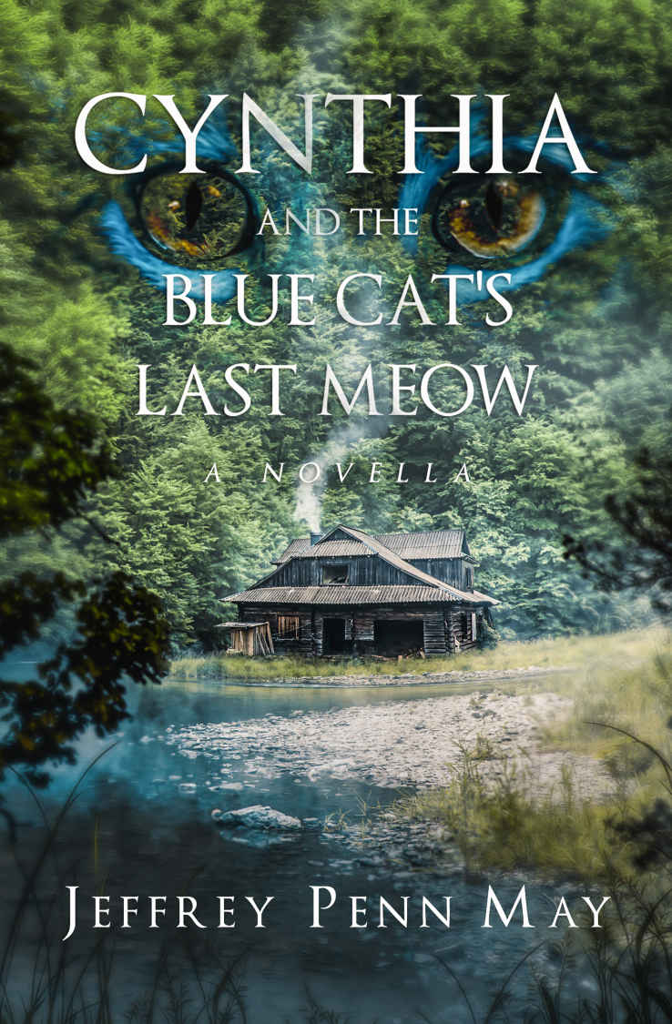Cynthia and the Blue Cat's Last Meow by Jeffrey Penn May