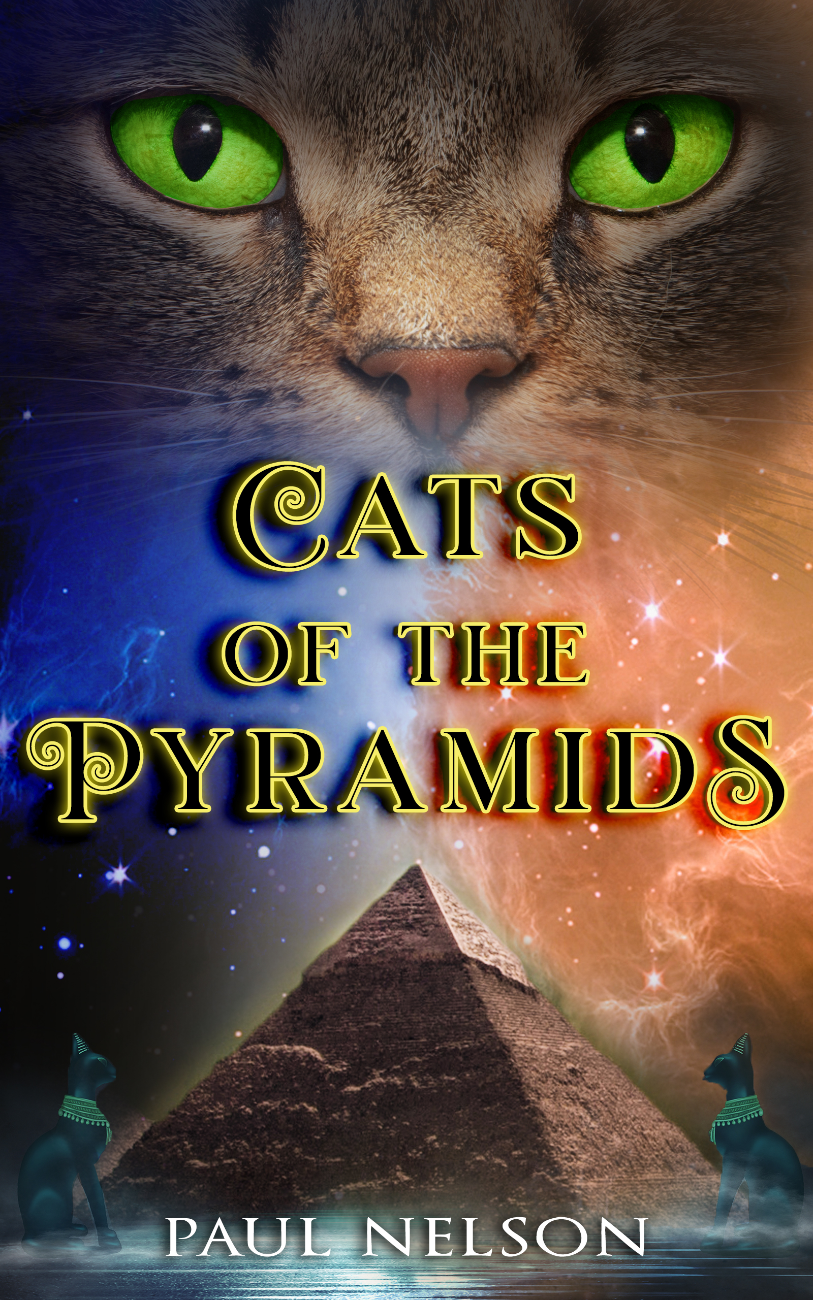 Cats of the Pyramids by Paul Nelson