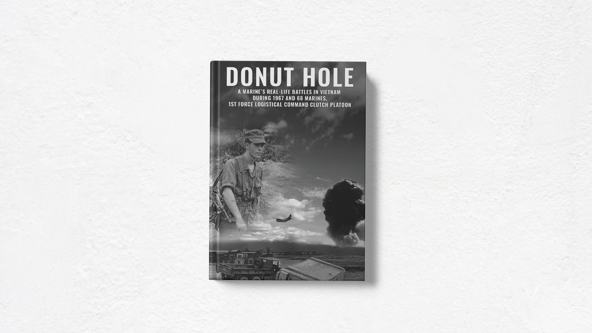 Donut Hole by RC Le Beau book cover white background