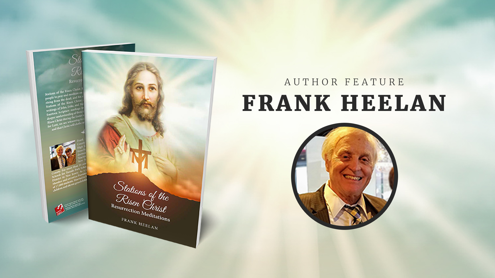 Frank Heelan picture + book cover