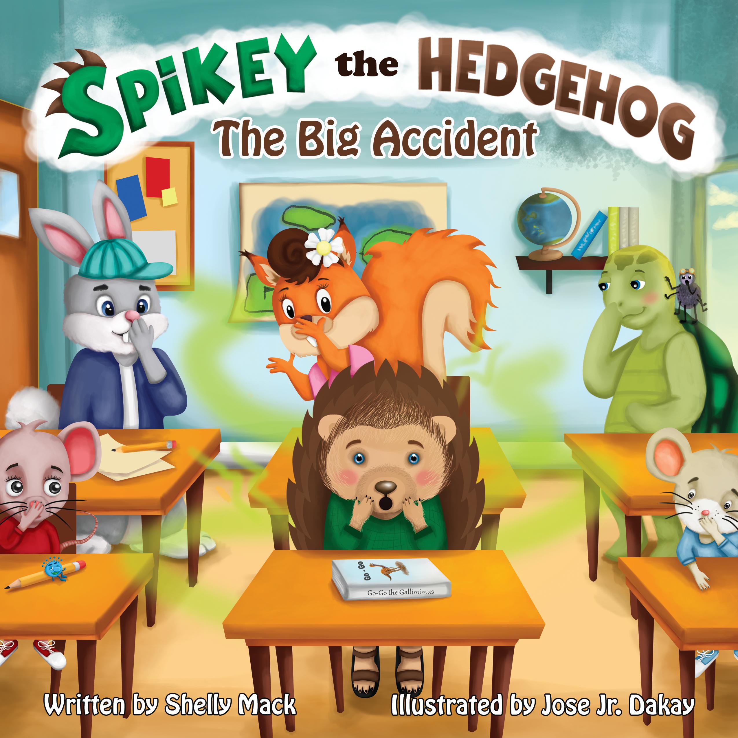 Spikey the Hedgehog by Shelly Mack