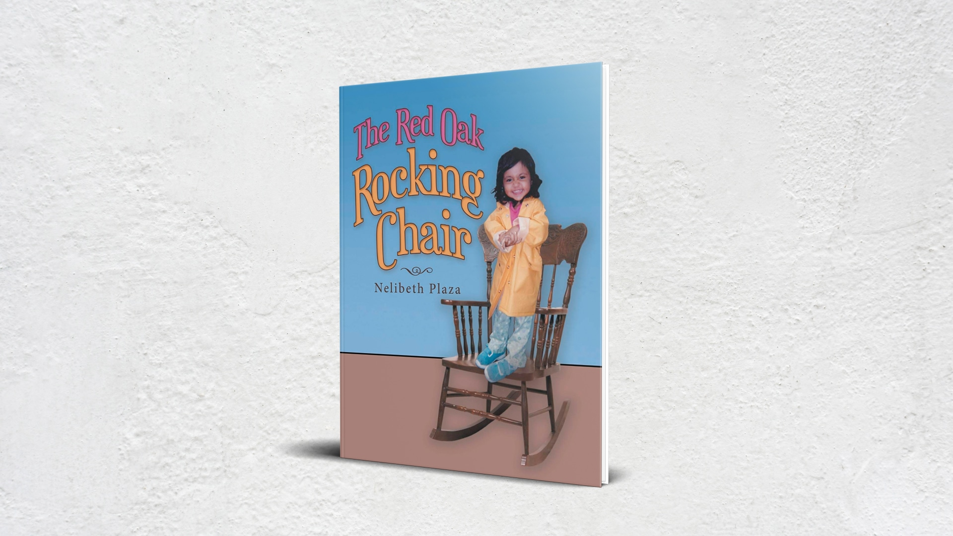 The Red Oak Rocking Chair by Nelibeth Plaza banner