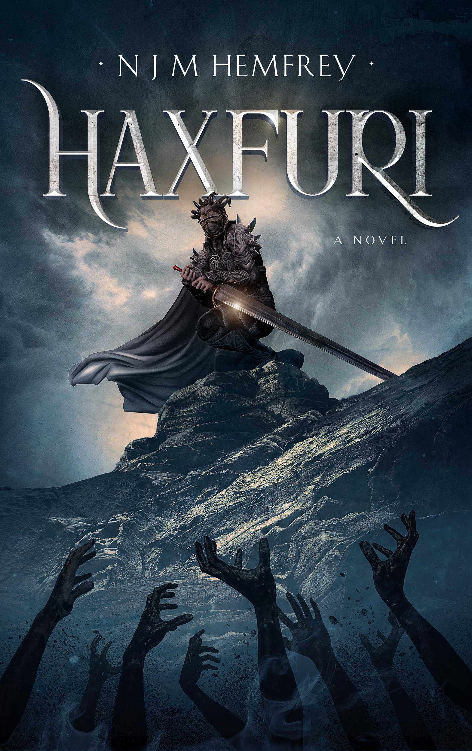 N J M Hemfrey author of Haxfuri (A Cosmic Grimdark Horror)