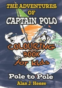 Pole to Pole coloring book cover