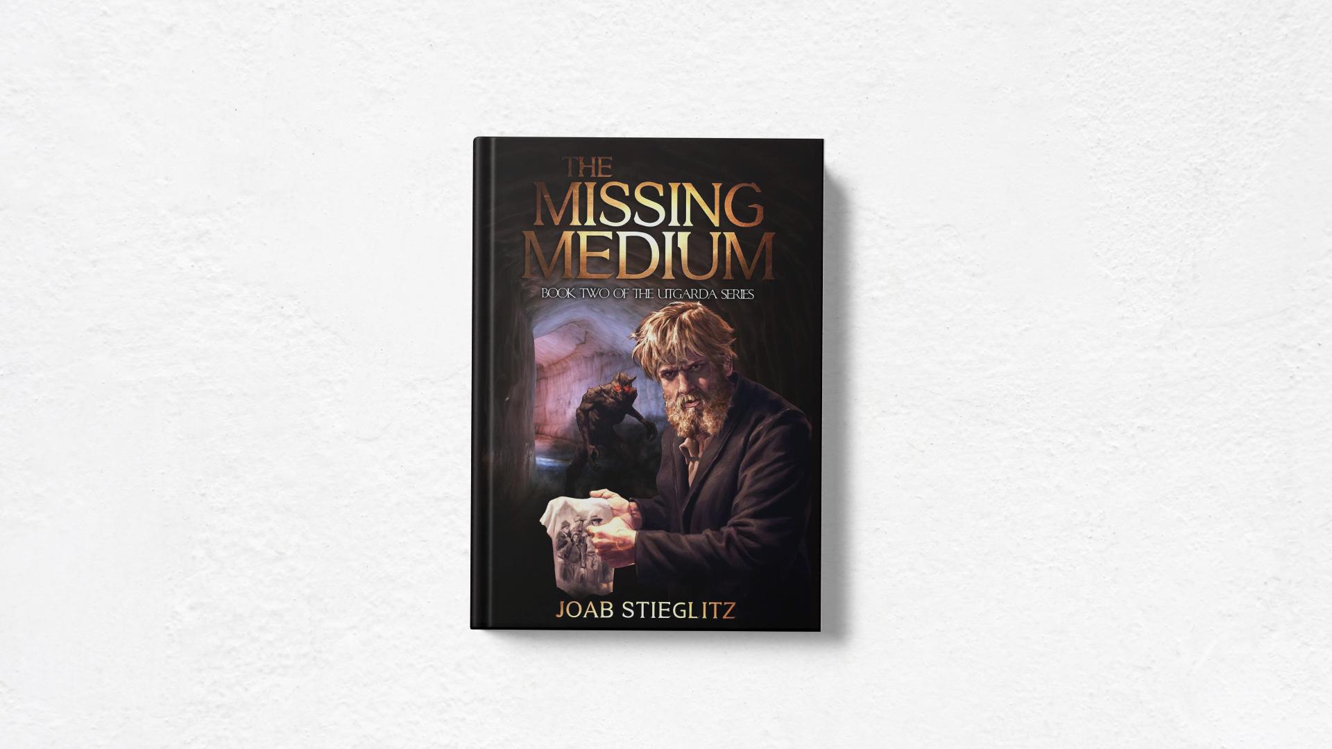 The Missing Medium by Joab Stieglitz book cover