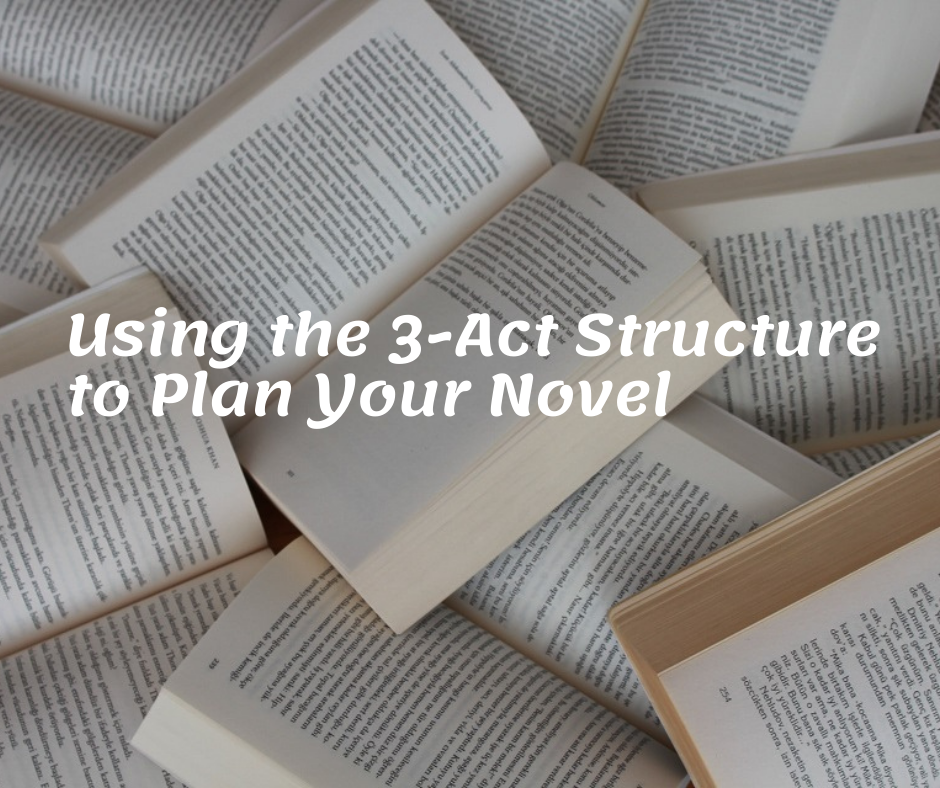 Using the 3 act structure to plan your novel