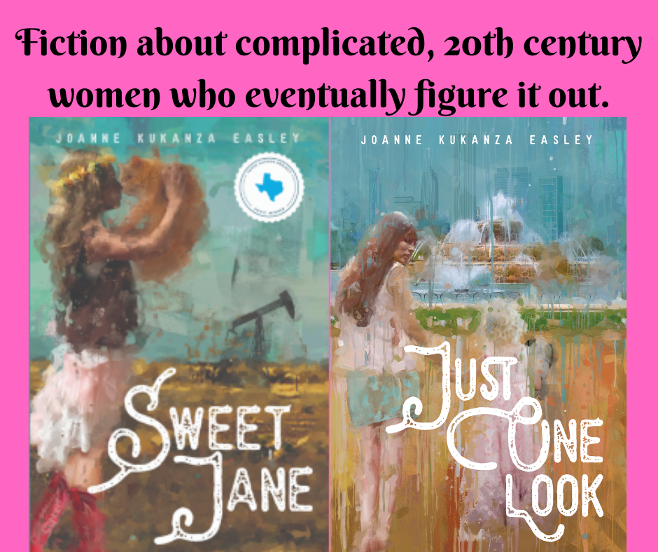 """Joanne Kukanza Easley author of """"Sweet Jane"""" and """"Just One Look"""""""