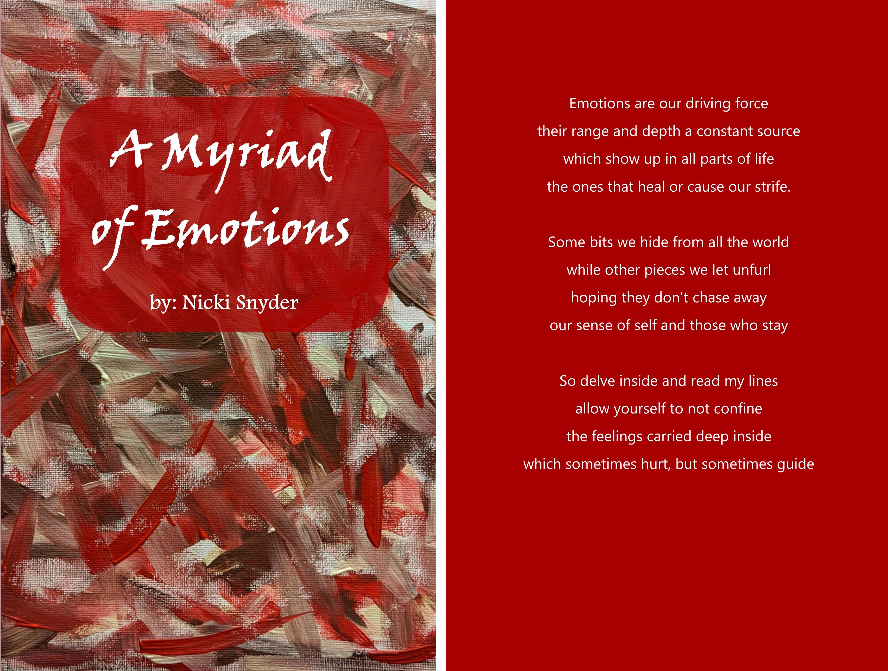 A Myriad of Emotions by Nicki Snyder