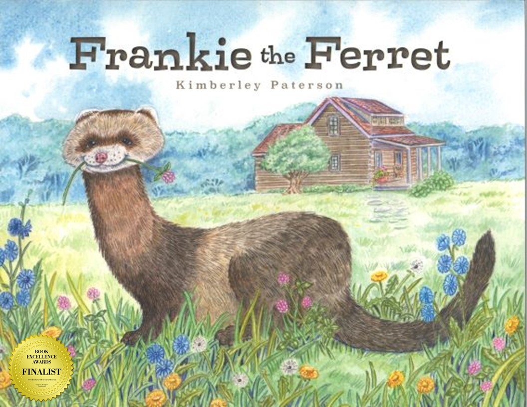 Frankie the Ferret by Kimberley Paterson