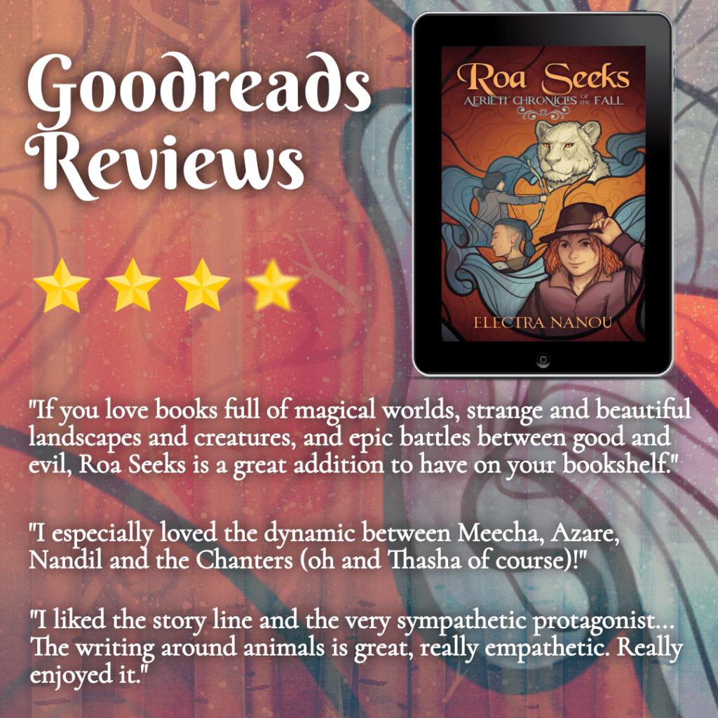 Goodreads reviews of Roa Seeks