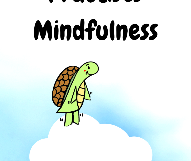 The Travelling Turtle Practises Mindfulness by Bianca Vickers