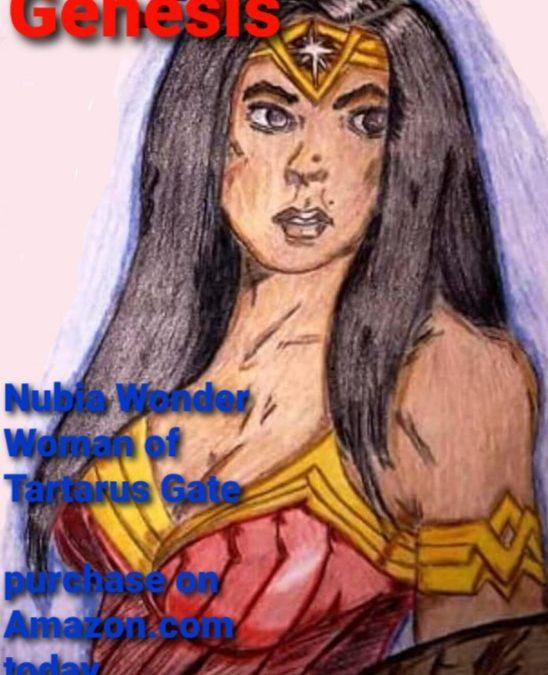 Genesis: Nubia Wonder woman of Tartarus Gate by Amber Lee Otto