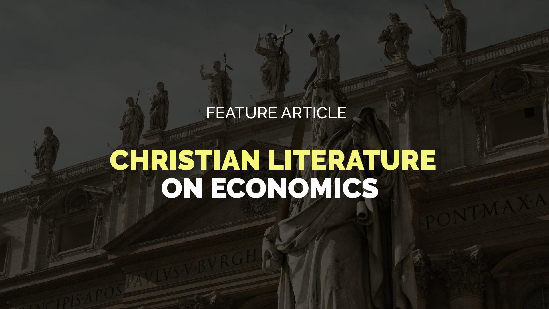 Christian-Literature-on-Economics banner